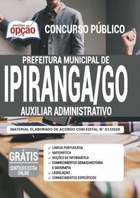 Apostila Concurso Prefeitura de Ipiranga de Goiás 2020