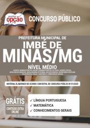 Apostila Prefeitura de Imbé de Minas - MG 2020 - Nível Médio