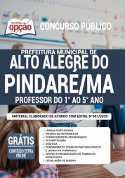 Apostila Prefeitura de Alto Alegre do Pindaré - MA 2020 - Professor do 1º ao 5º ano