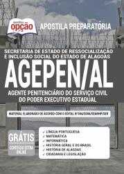 Apostila AGEPEN-AL 2020 - Agente Penitenciário do Serviço Civil do Poder Executivo Estadual