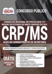 Apostila CRP 14ª Região - MS 2020 - Auxiliar Administrativo de Secretaria