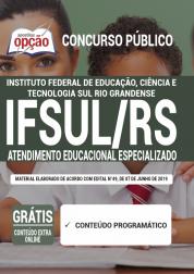 Apostila IFSUL-RS 2020 - Atendimento Educacional Especializado