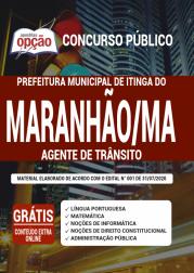 Apostila Prefeitura de Itinga do Maranhão - MA 2020 - Agente de Trânsito
