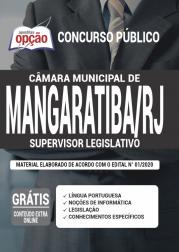 Apostila Câmara de Mangaratiba - RJ 2020 - Supervisor Legislativo