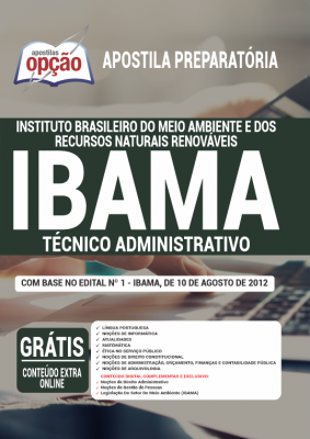 Apostila concurso 2021 IBAMA