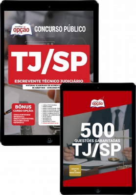 Apostila Concurso Escrevente Judiciário TJSP 2021