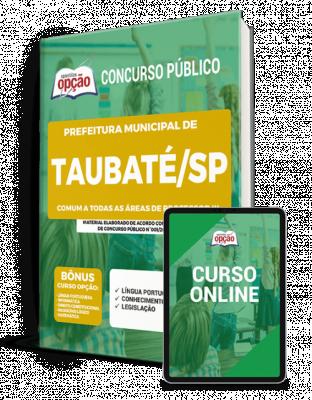 Apostila Concurso Prefeitura de Taubaté (SP) 2021