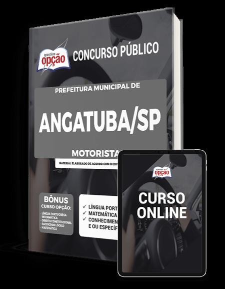 Apostila Prefeitura de Angatuba - SP 2021 - Motorista