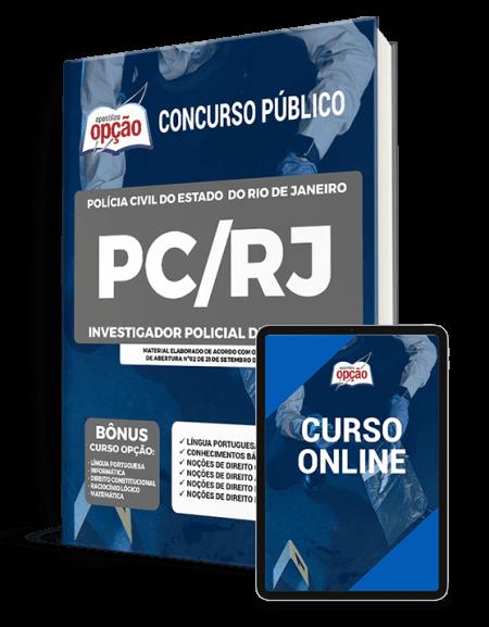 Apostila PC-RJ 2021 - Investigador Policial