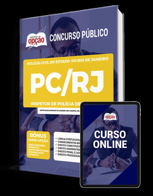 Apostila PC-RJ 2021 - Inspetor de Polícia de 6ª Classe