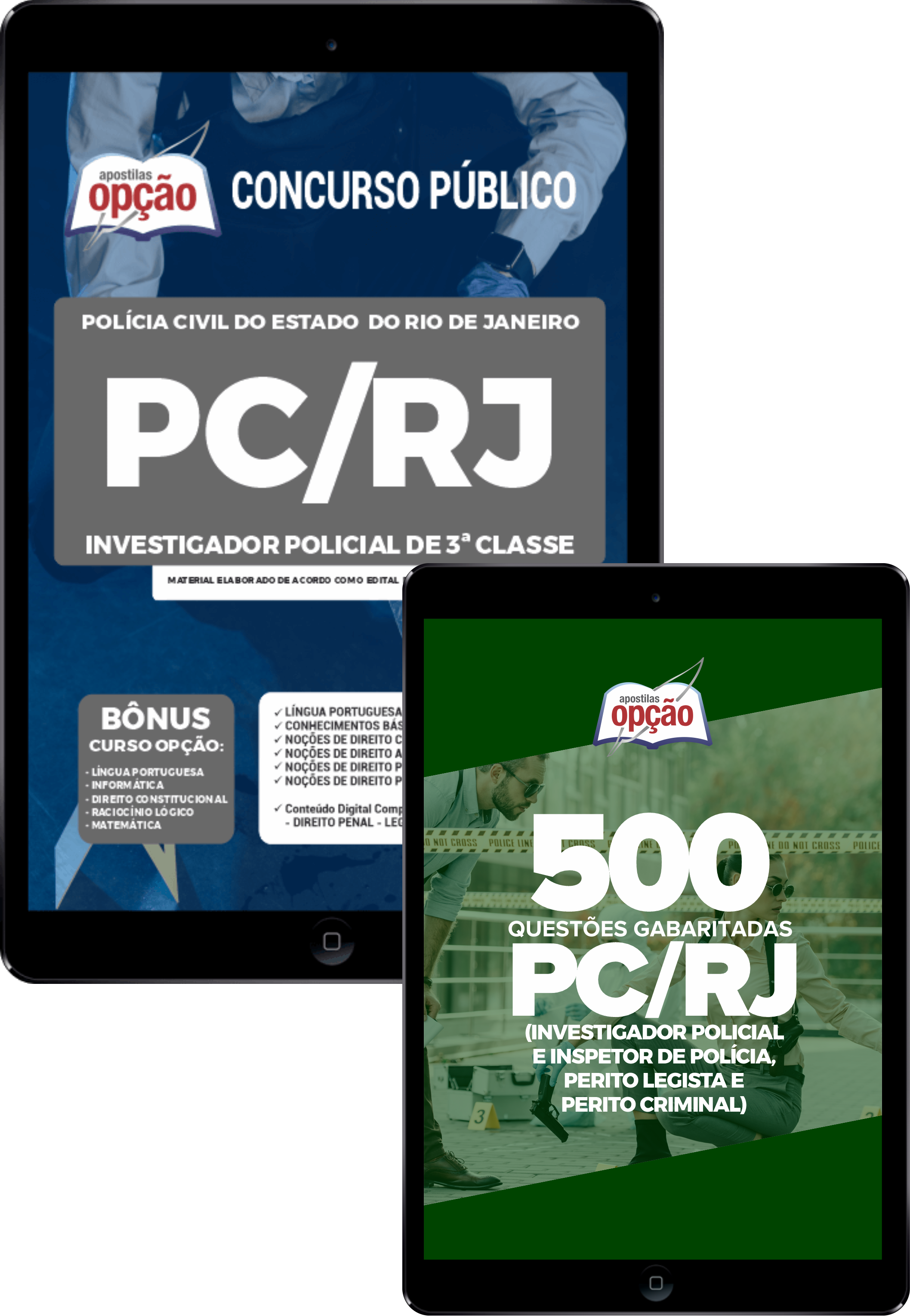 Combo PC RJ Investigador Policial 3ª Classe