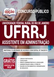 Apostila UFRRJ 2020 - Assistente em Administração