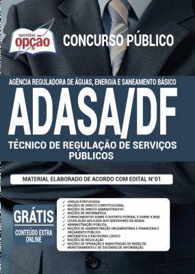 Apostila ADASA 2020 - Técnico de Regulação de Serviços Públicos
