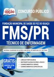 Apostila FMS-PR 2020 - Técnico de Enfermagem