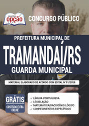 Apostila Prefeitura de Tramandaí - RS 2020 - Guarda Municipal