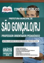 Apostila Prefeitura de São Gonçalo - RJ 2020 - Professor Orientador Pedagógico