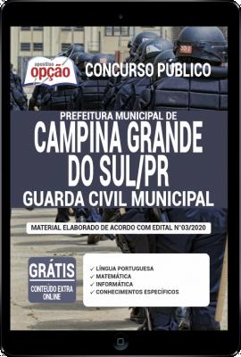 Apostila Concurso da Prefeitura de Campina Grande do Sul (PR) 2020