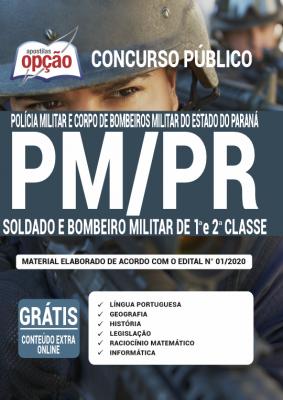 Apostila Concurso PM e Bombeiros PR 2020