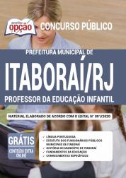 Apostila Prefeitura de Itaboraí -RJ - 2020 - Professor da Educação Infantil