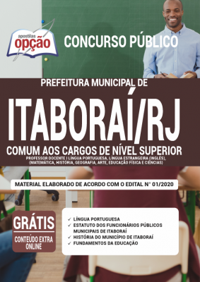 Apostila Concurso Prefeitura de Itaboraí (RJ) 2020