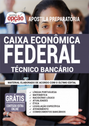 Apostila Caixa Econômica Federal 2020 - Técnico Bancário