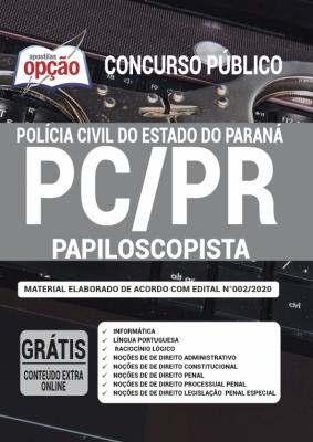 Apostila PC-PR 2020 - Papiloscopista