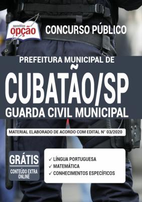 Apostila Prefeitura de Cubatão